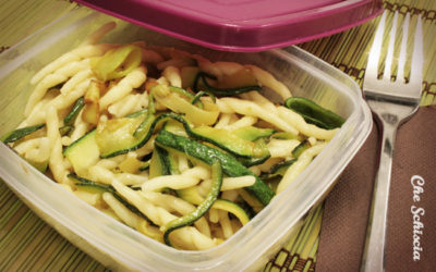Trofie alle zucchine